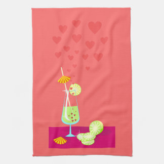 Love is not sweet candy American MoJo Kitchen Towe Hand Towels