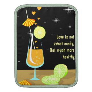 Love is not sweet candy Custom IPad1 IPad2 Sleeve Sleeves For iPads