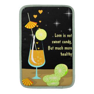 """Love is not sweet candy Custom Macbook 11"""" Sleeve MacBook Sleeves"""