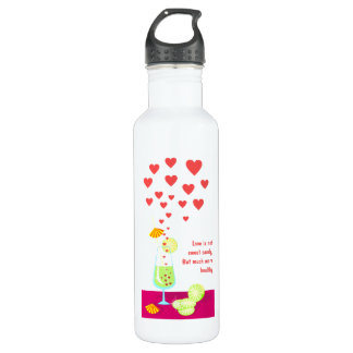 Love is not sweet candy Liberty Bottle