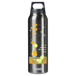 Love is not sweet candy Liberty Bottle 16 Oz Insulated SIGG Thermos Water Bottle