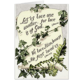 Love Is Of God Card