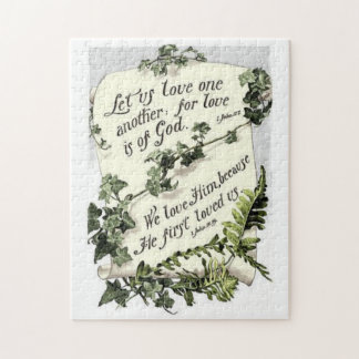 Love Is Of God Jigsaw Puzzle