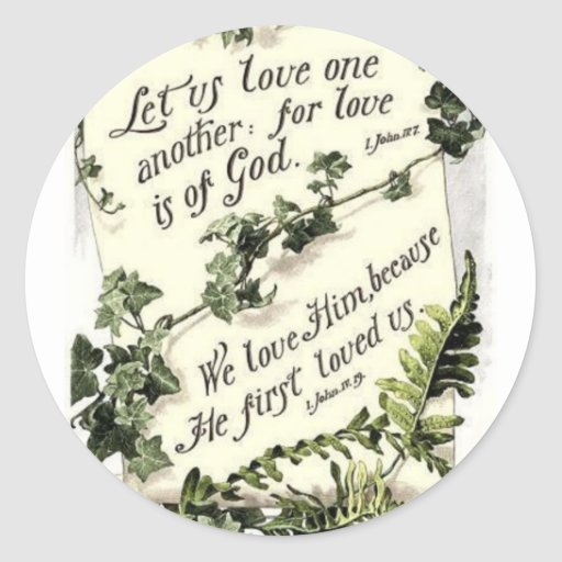Love Is Of God Stickers