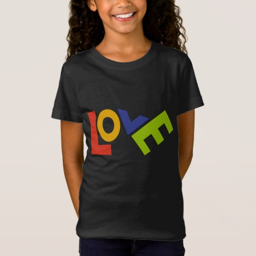LOVE IS ONLY FOUR LETTERS T_Shirt