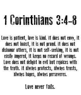 1 Corinthians 13 Gifts On Zazzle