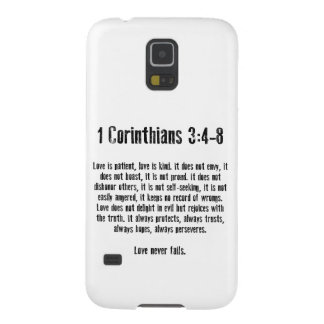 Love is Patient Galaxy S5 Cover