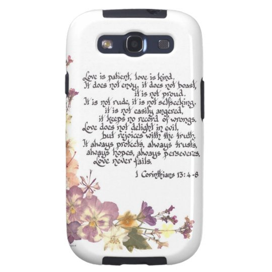 Love is patient galaxy SIII cover
