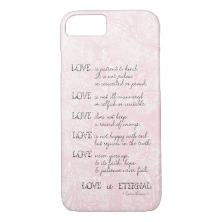 Love is Patient iPhone 7 Case