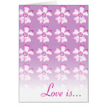 Love is patient, love is kind.... - Card -Template