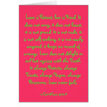 Love is Patient, love is Kind. It does not envy... Greeting Cards