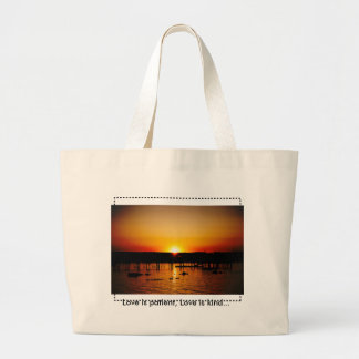 Love is patient, Love is kind... Large Tote Bag