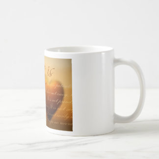 Love is patient; love is kind classic white coffee mug