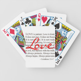 Love is Patient, Love is Kind. Deck Of Cards