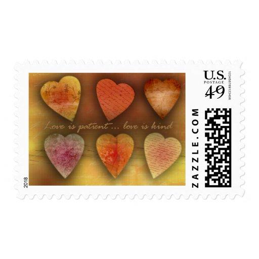 Love Is Patient Love Is Kind Stamp