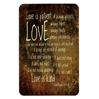 Love Is Patient Mixture Magnet