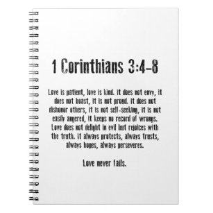 Bible Verse 1 Corinthians 13 Office School Products Zazzle