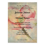 Love is Patient Pink Dogwood 5x7 Paper Invitation Card