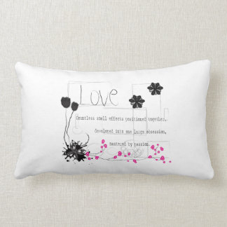 Love is pillow
