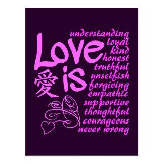 Love Is ... postcard