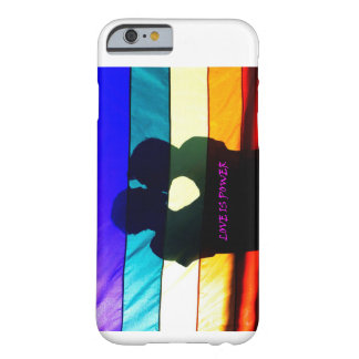 """""""Love is Power"""" Barely There iPhone 6 Case"""
