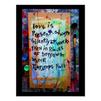 love is present poster