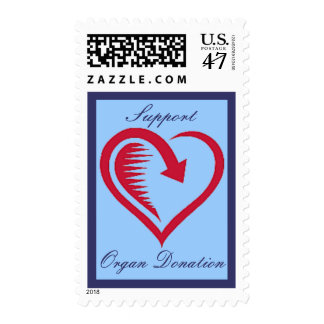Love is Returned Support Organ Donation Postage