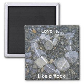 Love is Rock Solid Magnet