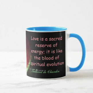 Love is sacred mug