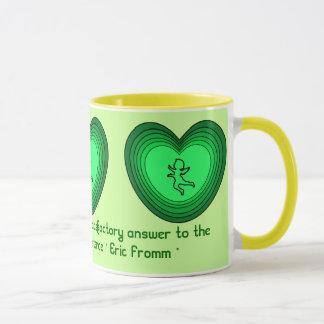 Love is sane mug