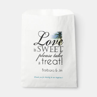 Love is Sweeet Beach Favor Favor Bags