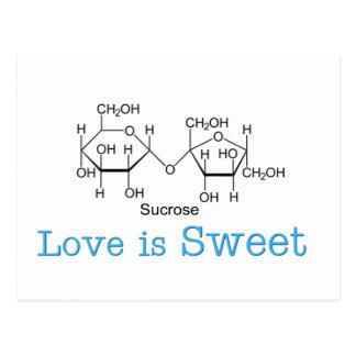 Love is Sweet Postcard