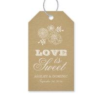 Love is Sweet Tags | Rustic Kraft Design