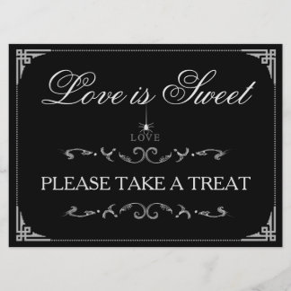 Love is Sweet Treats - Halloween Spider LOVE Sign