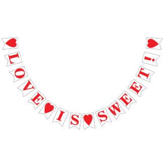 LOVE IS SWEET! WEDDING SIGN DECOR
