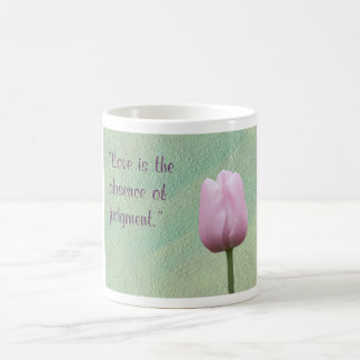 Love is the Absence of Judgement Classic White Coffee Mug
