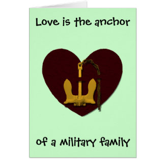 Love is the Anchor Card