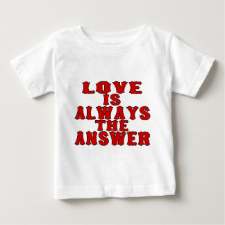 Love Is The Answer Baby T-Shirt