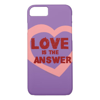 Love is the answer iPhone 7 case