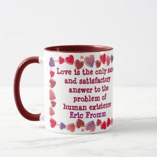 Love is the answer mug