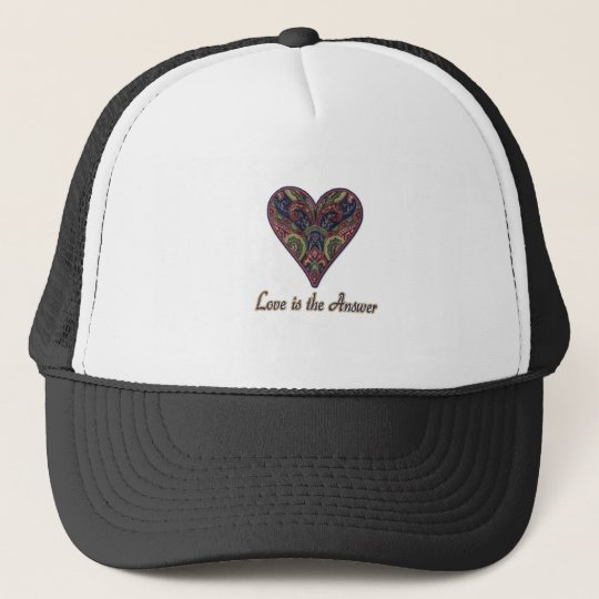 LOVE is the Answer Trucker Hat