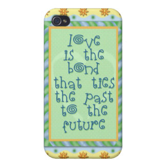 Love is the bond that ties iPhone 4/4S cover