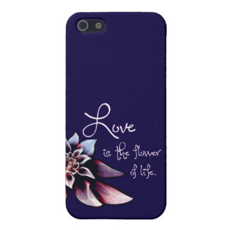 Love is the Flower of Life iPhone SE/5/5s Cover