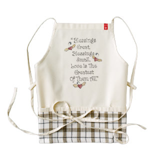 Love is the Greatest Blessing of All Apron