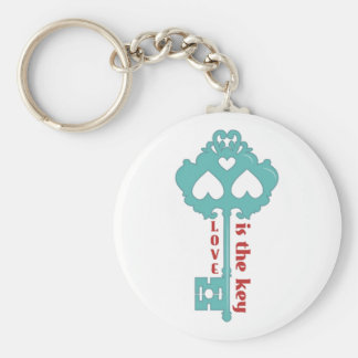 Love is the Key Keychain