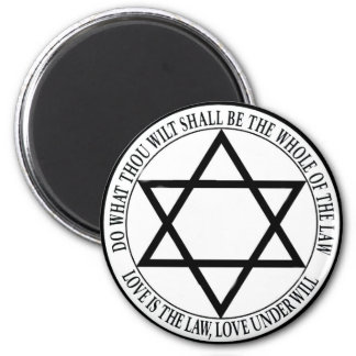 love is the law 2 inch round magnet