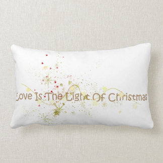 Love is the Light of Christmas Pillow