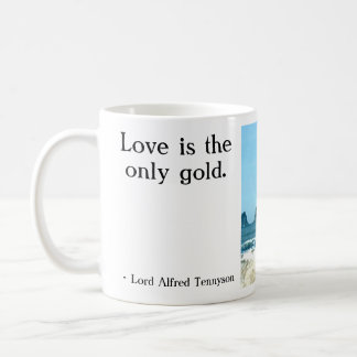 Love is the only gold. classic white coffee mug
