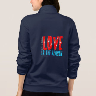 Love is the Reason for the Christmas Season Jacket