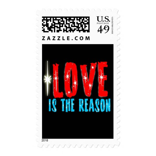 Love is the Reason for the Christmas Season Postage Stamp